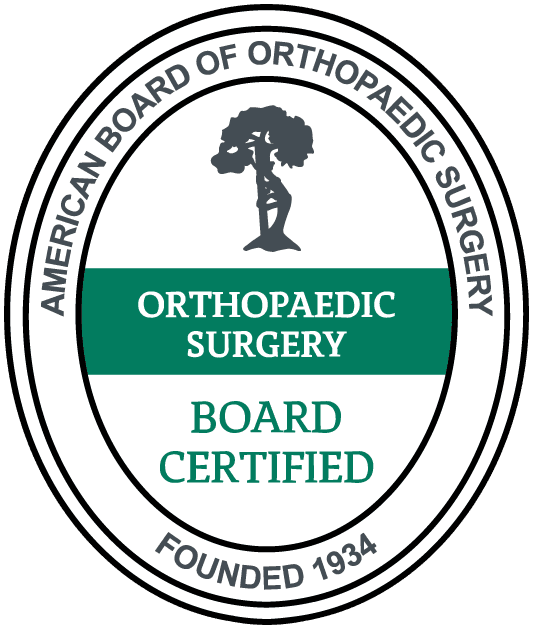 American Board of Orthopaedic Surgery Certified