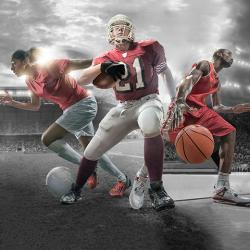 secondary feature image: sports composition